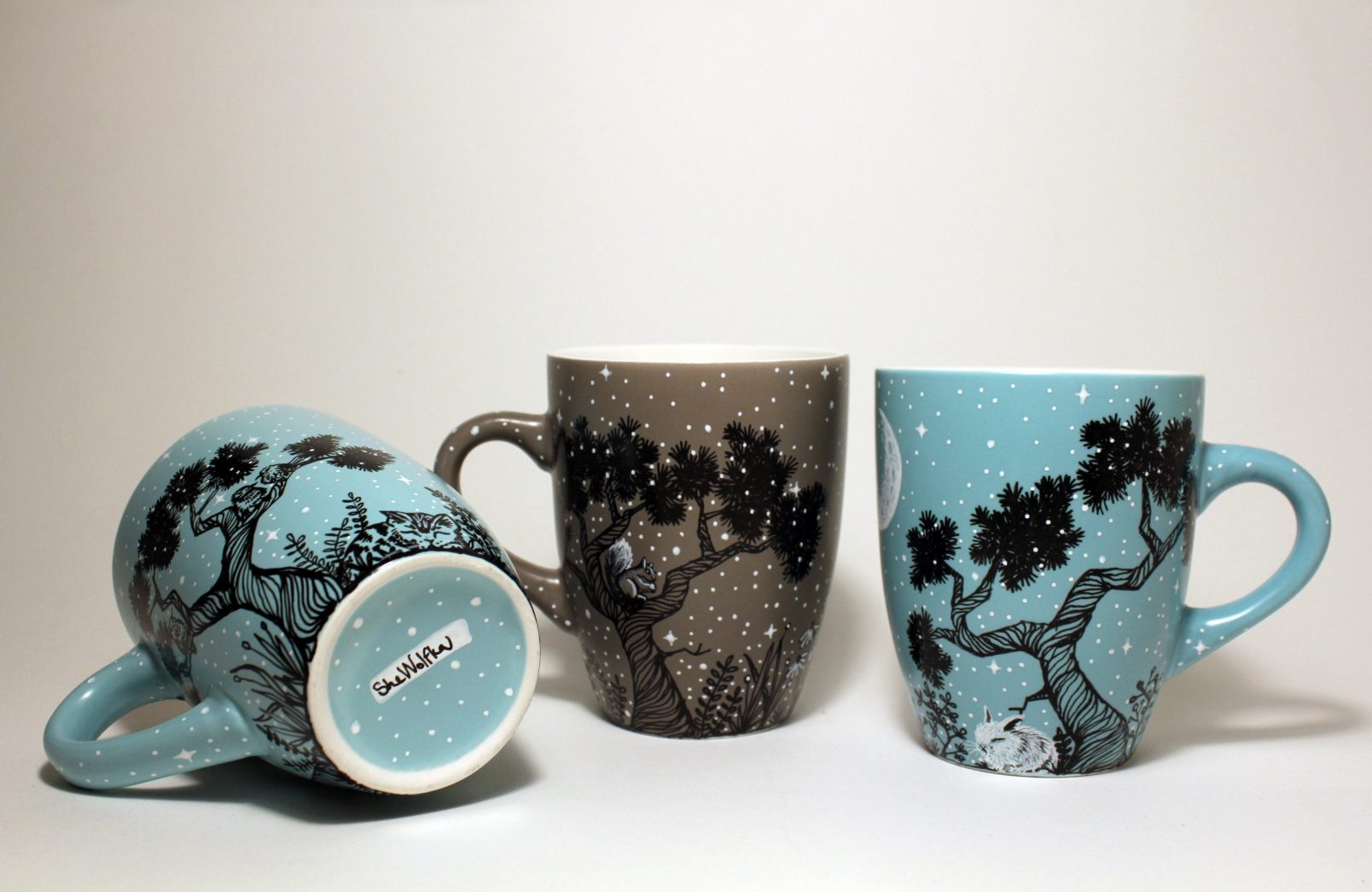 50 Hand Painted Mugs With Your Favorite Design