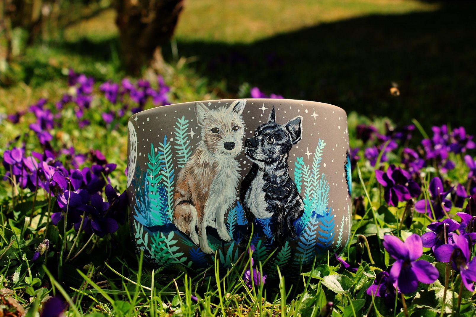 Ceramic pet mug