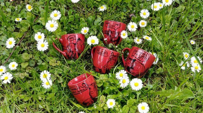 sassy coffee addicted foxes woodland friends fox lover hand painted handmade gift ideas cant sleep